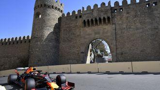 Verstappen jaagt op eerste 'podium' in Bakoe.