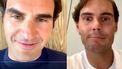 Federer en Nadal kletsen bij tijdens hilarische Instagramsessie
