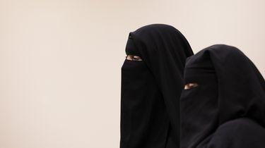 Vrouw met niqab geweigerd aan Belgische grens