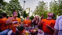 EK voetbal Oranje hitte
