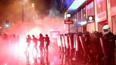 Demonstraties in Frankrijk.