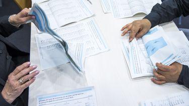 Tellen stemmen verkiezingen