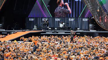 538 oranjedag, koningsdagfeest, Fieldlab