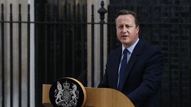Britse premier David Cameron stapt op
