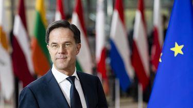 Premier Mark Rutte voor aanvang van de Europese top over klimaatverandering en langetermijnbegroting.