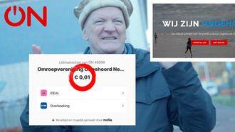 Lidmaatschap Ongehoord Nederland kost 1 cent door stevige site-blunder