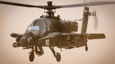 Stroomstoring doordat helikopter stroomkabel raakt
