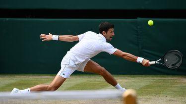 Novak Djokovic wint voor vijfde keer Wimbledon.