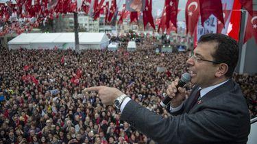 Verkiezingen Istanbul