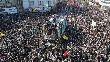 Tientallen doden bij begrafenis Iraanse generaal Soleimani