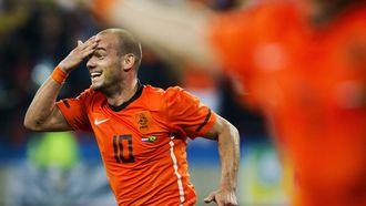 Wesley Sneijder koning Toto Oranje