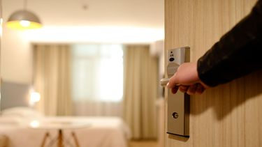 hotel, hotelkamer, stelen