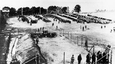 Archiefbeeld van kamp Neuengamme
