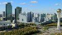 Op deze foto zie je de stad Nur Sultan in Kazachstan.
