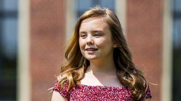 Feest in paleis Huis ten Bosch: prinses Ariane is jarig