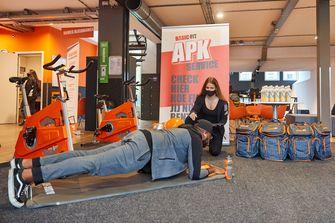 Feestelijke heropening Basic-Fit met APK-service