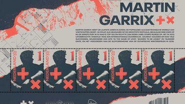 Speciale postzegel geeft toegang tot optreden Martin Garrix