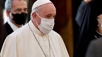 foto van de paus