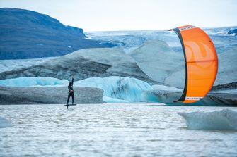 Kitesurfer Roderick Pijls IJsland