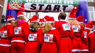 De Santa Run in Gorinchem in 2018.