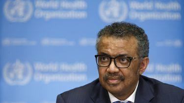 Tedros Adhanom Ghebreyesus, directeur van de WHO.