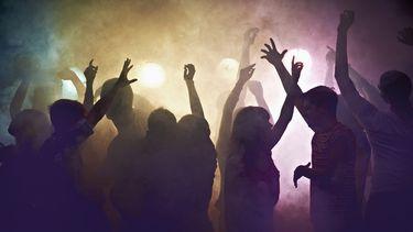 foto van een rave