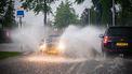 Een foto van extreme regen in juni in Mierlo