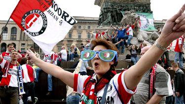 Feyenoordfans namen in 2002 bezit van Milaan.