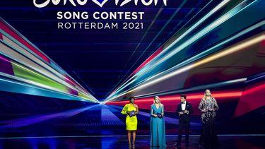 Tweede halve finale, halve finale, Eurovisie songfestival, landen door naar finale