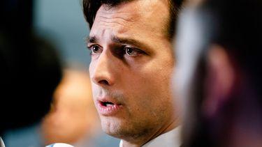 Op deze foto zie je Thierry Baudet (Forum voor Democratie)