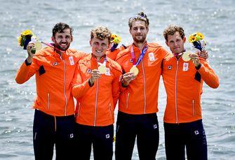 Olympische Spelen Tokio roeien goud