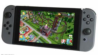 Rollercoaster Tycoon naar Nintendo Switch?