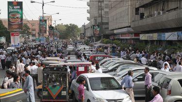 Karachi, Pakistan ter illustratie
