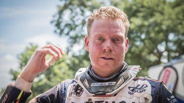 Arjan Bos (40) reed de Dakar Rally uit met een gebroken sleutelbeen. //Foto: Rallymaniacs.com