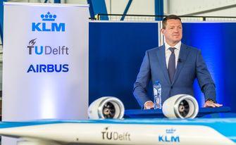 Een foto van Pieter Elbers van KLM