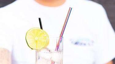 Op deze foto zie je Hard Lemonade met jenever en citroen