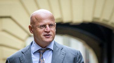 Op deze foto is de minister van Justitie en Veiligheid te zien, Ferdinand Grapperhaus.