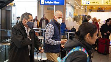 Veel verontruste reizigers met bestemming VS op Schiphol
