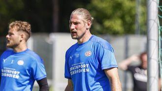 Een foto van keeper Unnerstall van PSV