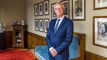 Op deze foto zie je portret van FvD Eerste-Kamerlid Bob van Pareren.