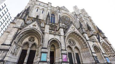 De kathedraal waar het incident plaatsvond.