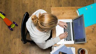 Steeds meer Nederlanders werken vanuit huis