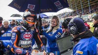 Race WK superbike op TT Circuit afgelast door sneeuw