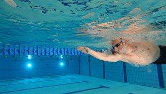 Ook Stefan van der Pal gaat de Elfstedentocht zwemmen