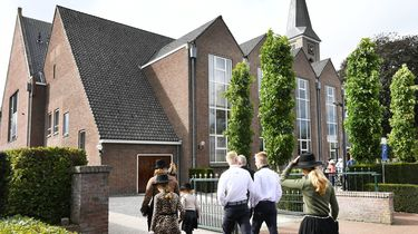 Een foto van de kerk in Staphorst