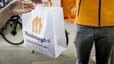 Thuisbezorgd.nl bestellingen verkeer