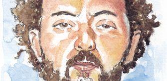 Een tekening van Ridouan Taghi