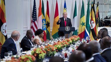 Trump verzint Afrikaans land en internet gaat los