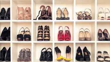 Zóveel paar schoenen heeft de gemiddelde vrouw