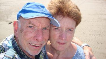 Foto van echtpaar dat is opgelicht